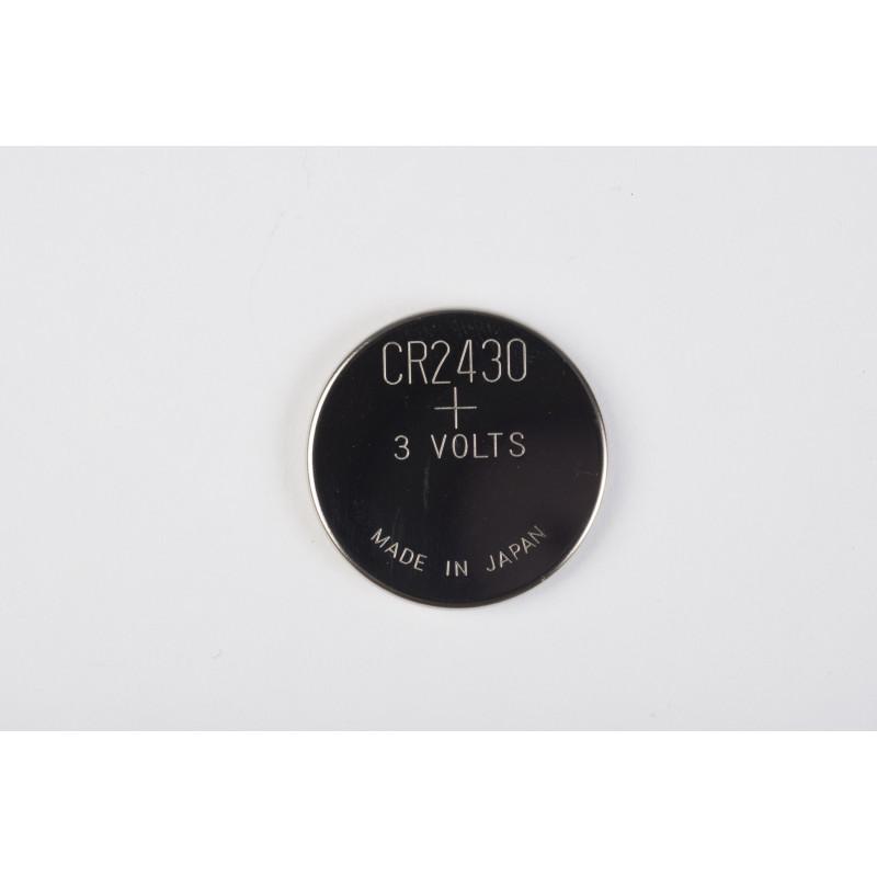 Pile CR2430-3V pour commandes Somfy  - 1